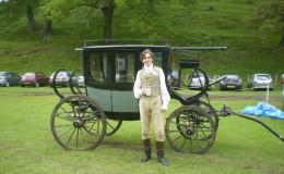 Dan Stevens at Hartland Abbey