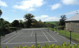 Affeton Barton tennis court